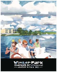 Winter Park Sidewalk Art Festival Posters